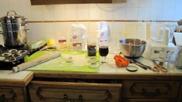 Essentials being prepared
