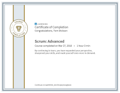 Scrum Advanced